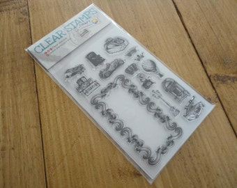 "Clear stamps ""vintage journey"""