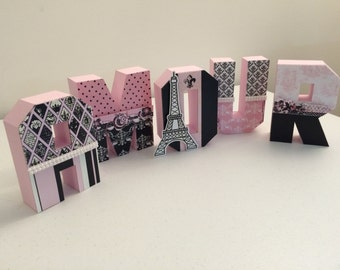 Letter Box Decoration Paris Party individual price