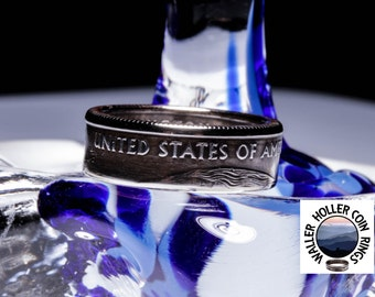 United States of American coin ring