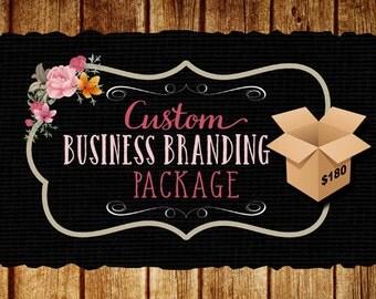Business Branding Package, Logo, Web Banner, Watermark, a Matching Social Media Banner, Business Logo Package Design, Business Card Design