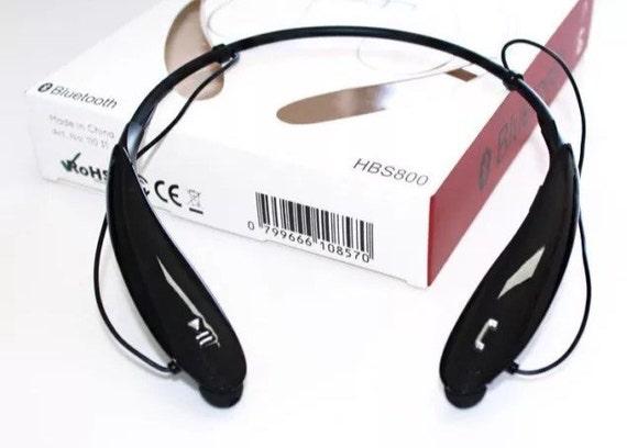 HBS-800 Bluetooth Wireless Headphones Stereo Headset Neckband Handsfree Neckband