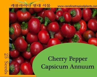 Cherry Pepper seeds - 25
