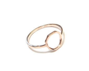 "Ring in Vermeil pink ""Camboriu"""