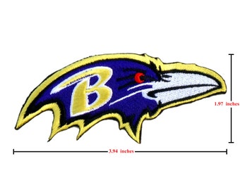 Baltimore Ravens Logo Embroidered Iron Patches.