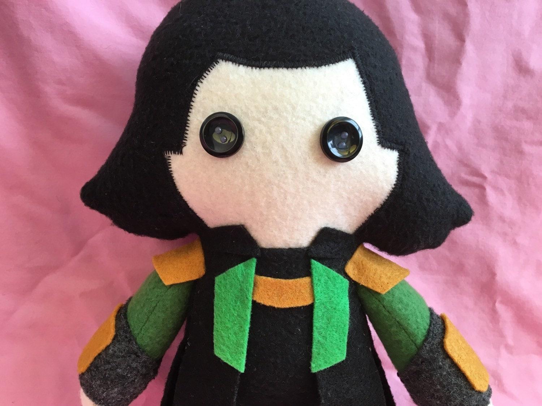 Loki Laufeyson Marvel Fleece Plush Doll