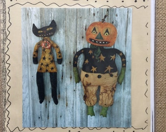 The Wild Ones- a cloth and mixed media pattern by Hickety-Pickety