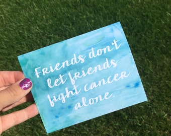 Breast Cancer Awareness - Funny Breast Cancer Card - Breast Cancer encouragement - Breast Cancer Friendship card - Cancer support