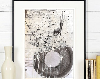 black, whitecpainting  abstract painting wall art  wall decor   multicolors abstract  painting  from Jolina Anthony