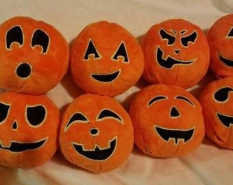 Glow in the Dark Pumpkin Patch balls