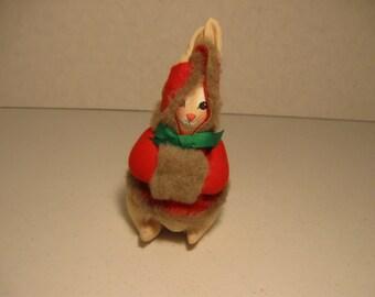 Vintage Boalt Co. Rabbit Ornament Cloth 1983