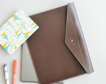 Leather iPad case - Daniel Chestnut iPad cover / brown leather ipad sleeve leather ipad cover leather ipad cover ipad air cover kindle case