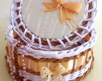 Jewel-box, paper basket
