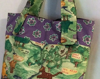 Winnie the Pooh Insulated Lunch or Small Diaper Bag, Toddler Tote