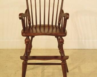 F25516E: FREDERICK DUCKLOE Child's Size Windsor Cherry Arm Chair