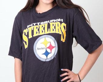 Vintage Pittsburg Steelers NFL t-shirt Steelers team logo tee