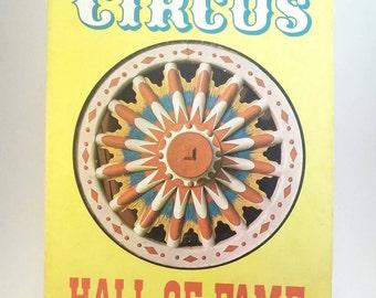 SALE 1965 Circus Hall of Fame book