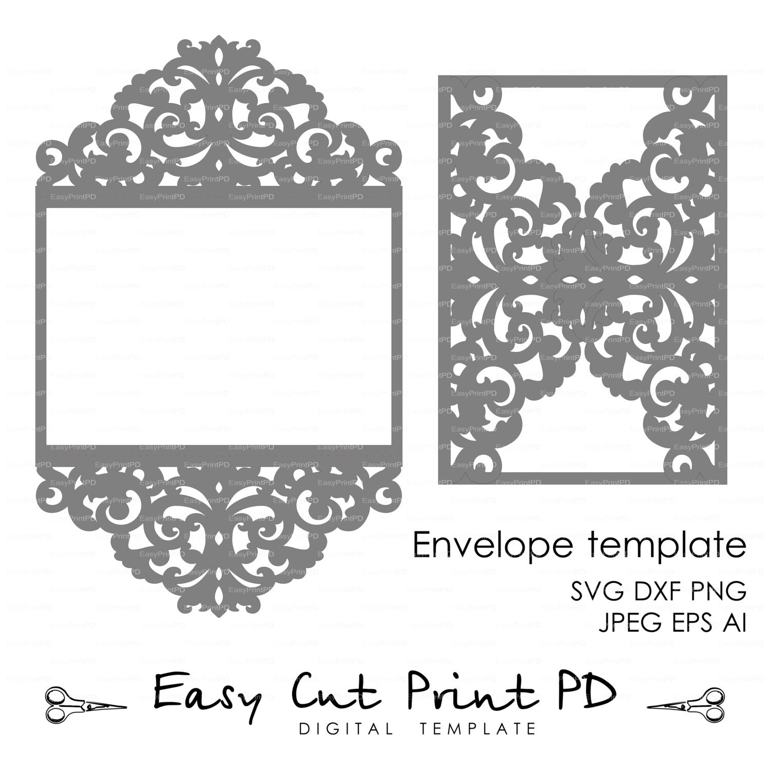 free lace template card - 28 images - vintage lace invitation card ...
