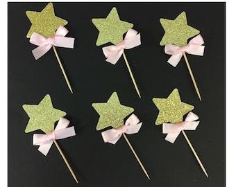 20 Twinkle Little Star Toothpicks