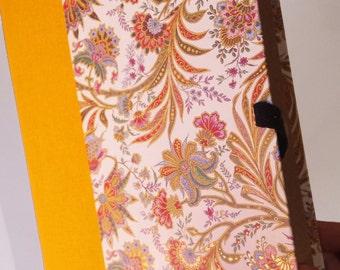 Floral printed folder