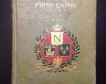 A Boy of the First Empire, Elbridge S. Brooks, 1895, 1st Ed., Illustrated