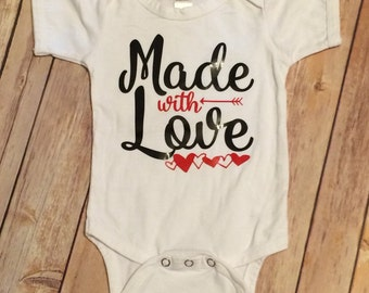 Valentine Outfit for Baby, Baby Valentine outfit, Valentine Outfit, Valentine Shirt, Baby Girl Valentine Shirt, Baby Boy Valentines Shirt