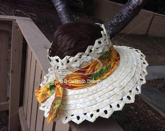 Ladies straw (Bakoua) hats