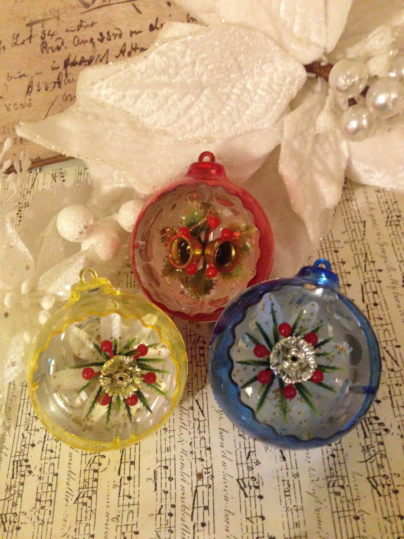 vintage christmas ball ornaments