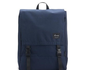 Big Multifunctional Backpack & Crossbag / Shoulderbag (Navy)