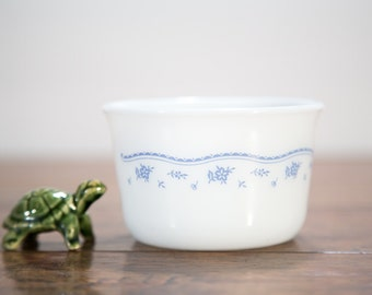 Morning Blue Corning Pyrex Sugar Bowl - No Chips