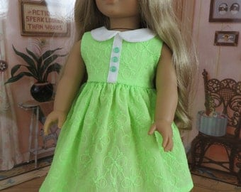 18 Inch Doll Clothes - Sleeveless Dress