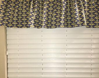 Curtain valance, window valance, window curtain tier