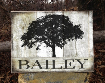 Last Name Sign, Wood Family Name Sign, Monogram, Wedding Established, Personalized Sign, Family Established, Wedding Sign,Rustic Name