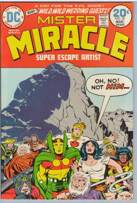 Mr. Miracle 18 Mar 1974 VF-NM (9.0)
