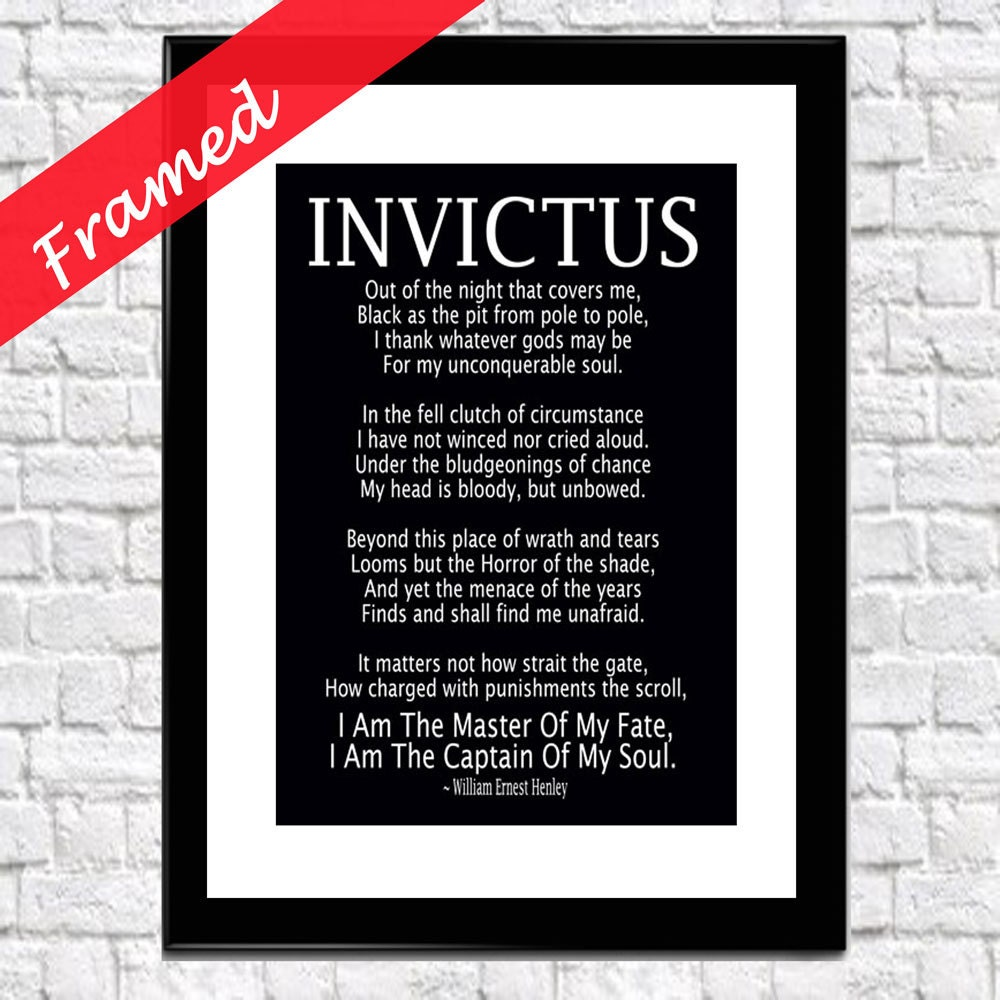 an interpretation of invictus a poem by william ernest henley