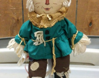 "Wizard of Oz Plush Scarecrow 15"" doll"