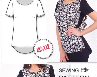 Blouse Patterns - Womens Sewing Patterns - Easy Sewing Projects - Sewing Patterns - Easy Patterns - Sewing Pattern For Woman - Sew Easy