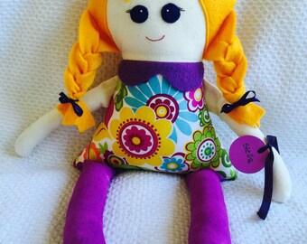 Stella doll, handmade, FREE postage within Australia