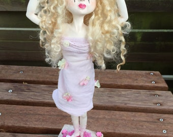 SALE 20% OOAKdoll handmade doll artdoll collectable doll