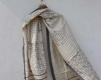 Pashmina Cotton Hand Block Printed Stole