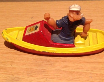 Corgi Popeye Boat Vehicle