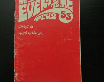 Ralph Carmichael He's Everything to Me Plus 53 Soft Cover Book 1969