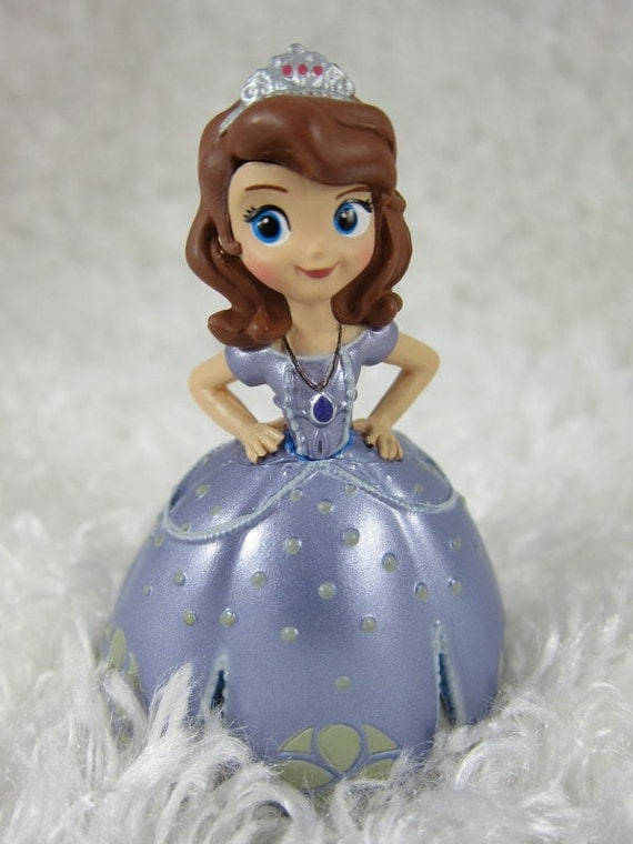 Sofia the First CAKE TOPPER figurine Priority by PerfectShapes