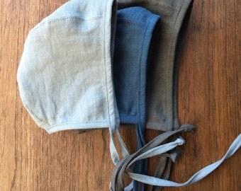 Classic Linen bonnet