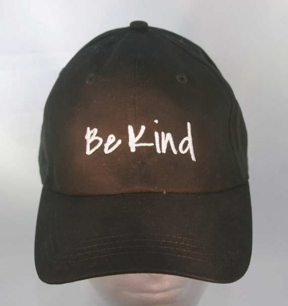 Be Kind (Polo Style Ball Black with White Stitching)