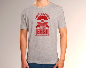 "Pokemon ""Poke Trainer"" Men's T-Shirt"