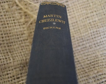 Martin Chuzzlewit. Charles Dickens. Illustrated by Phiz Hardback book.