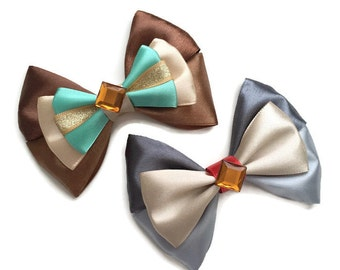 Lady & The Tramp Inspired Disney Hair Bows