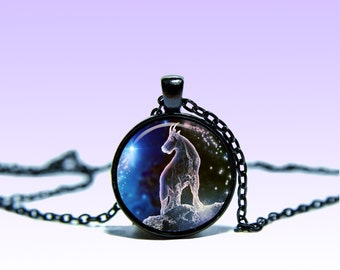 Aries Zodiac Sign March 21 - April 20 Vintage Pendant Astrology NECKLACE Zodiac Jewelery Charm Pendant for Him or Her