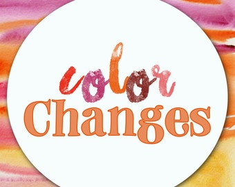 Add On _ Custom Color Change