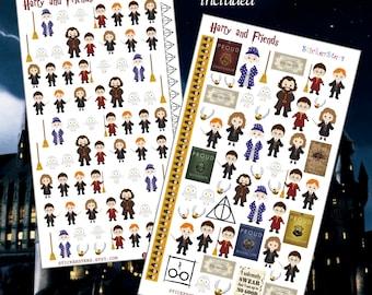 Harry & Friends Cute Planner Stickers